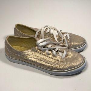 Vans Sk8 Low Gold Sneakers Women 8.5